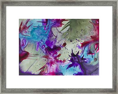 Primordial Reach Framed Print by Julie Myers
