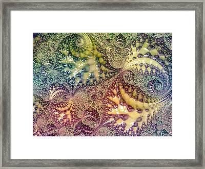 Primordial Seafood Bisque Framed Print