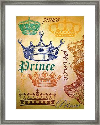Prince 2 Framed Print