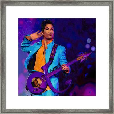 Prince 3 Framed Print by  Fli Art