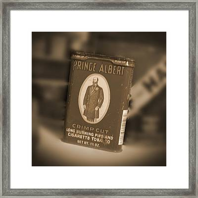 Prince Albert In A Can Framed Print by Mike McGlothlen