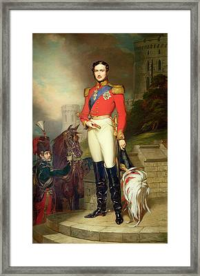 Prince Albert Framed Print by John Lucas