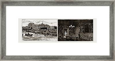 Prince Alexander Of Bulgaria At Home Front View Framed Print by Litz Collection