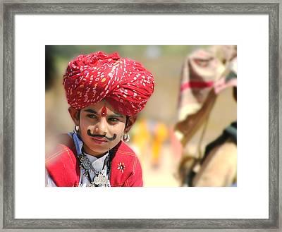Prince Ali Framed Print by A Rey