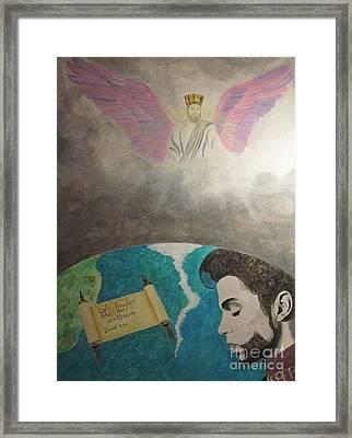 Prince And Prayer Framed Print