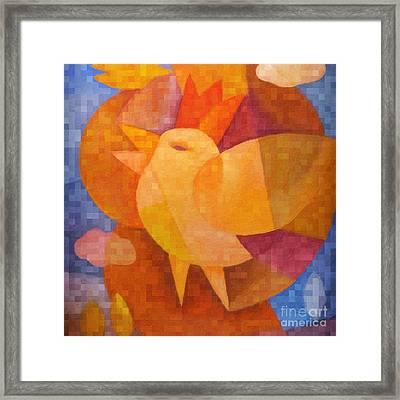 Prince Birdie Framed Print by Lutz Baar