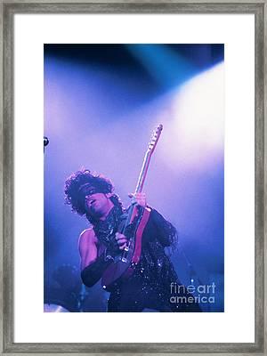 Prince Framed Print by David Plastik