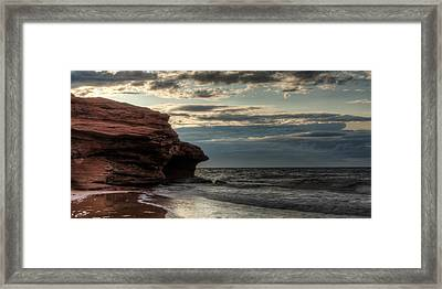 Prince Edward Island Coastline Framed Print by Matt Dobson