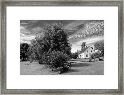 Framed Print featuring the photograph Prince Edward Island Home by Jim Vance