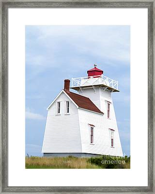Prince Edward Island Lighthouse Framed Print
