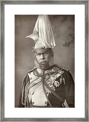 Prince George (1819-1904) Framed Print by Granger