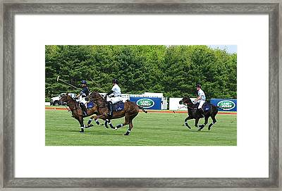 Prince Harry Greenwich Polo Club Framed Print