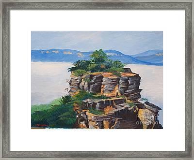 Prince Henry Cliff Australia Framed Print