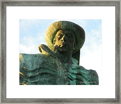 Prince Henry The Navigator Framed Print by Kathy Barney