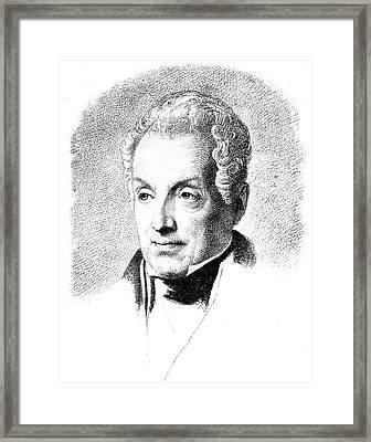Prince Metternich (1773-1859) Framed Print