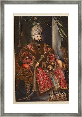 Prince Mirza Muhammad Salim Framed Print by British Library