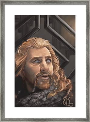 Prince Of Erebor Framed Print by Lydia Kinsey