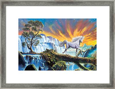 Prince Of The Mountains Framed Print by Steve Crisp