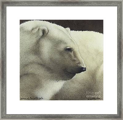 Prince Of The North Pole Framed Print by Will Bullas