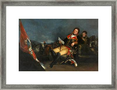 Prince Of The Peace Framed Print by Francisco Goya