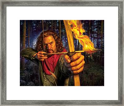Prince Of Thieves  Framed Print