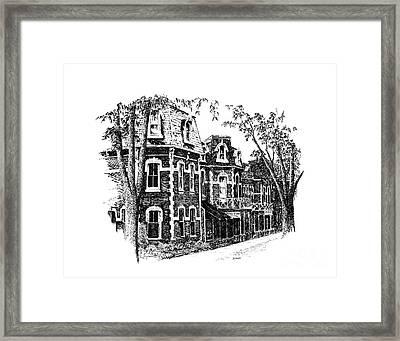 Prince Of Wales Hotel Framed Print by Steve Knapp