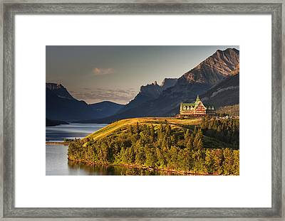 Prince Of Wales Sunrise Framed Print by Mark Kiver