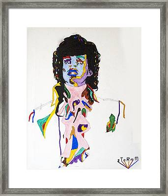 Prince Purple Reign Framed Print by Stormm Bradshaw