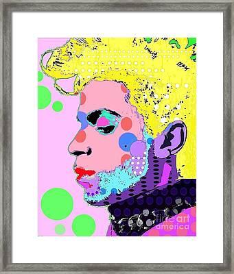 Prince Framed Print by Ricky Sencion