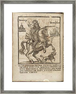 Prince Rupert Framed Print by British Library