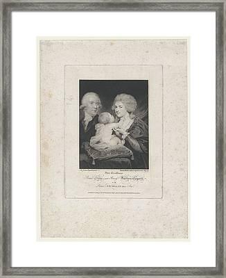 Prince Serge And Princess Barbara Framed Print by after Sir Joshua Reynolds