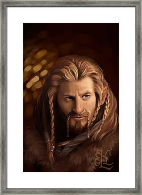 Prince Under The Mountain Framed Print by Lydia Kinsey