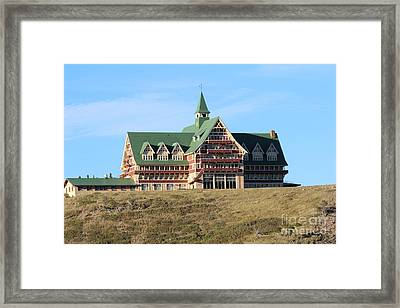 Framed Print featuring the photograph Prince William Hotel by Ann E Robson
