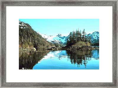 Prince William Sound Alaska Framed Print