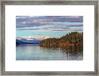 Prince William Sound Alaskan Landscape Framed Print