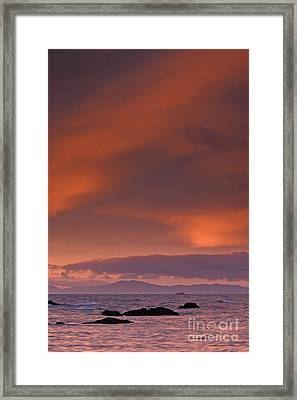 Prince William Sound Sunrise Framed Print by Tim Grams