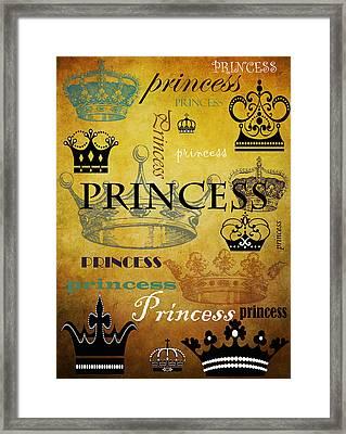 Princess 1 Framed Print