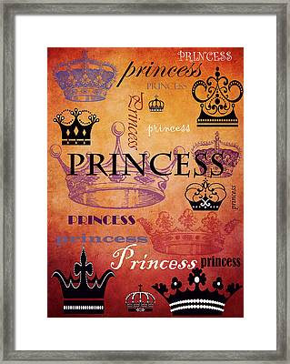 Princess 2 Framed Print
