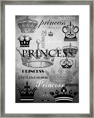 Princess 3 Framed Print