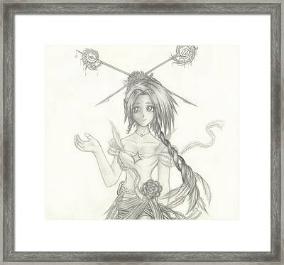 Princess Altiana Framed Print