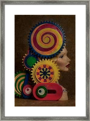 Princess And Contraption 1 Framed Print by Jeff  Gettis