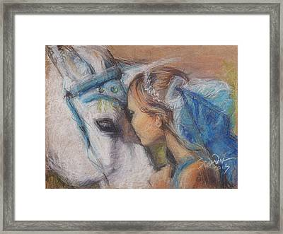 Alyssa And Lonnee Framed Print by Sciandra