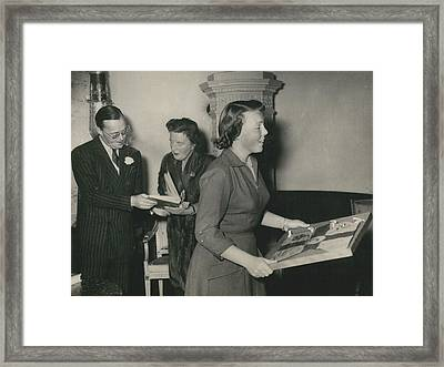 Princess Beatrix Of The Netherlands Receives Her Birthday Framed Print by Retro Images Archive