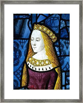 Princess Cecily C.1485 Framed Print