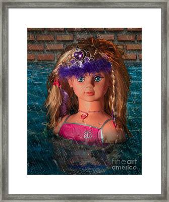 Princess Framed Print by Donald Davis