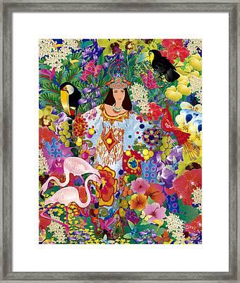 Princess Guajira Framed Print