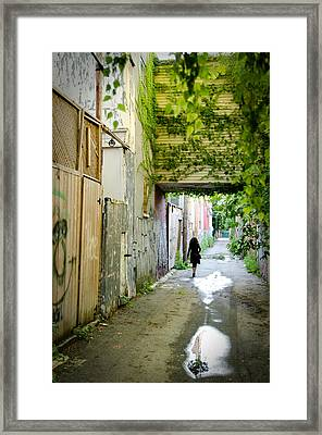 Princess In The City Framed Print by Eric Soucy