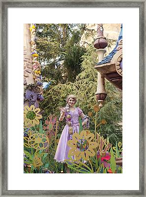 Princess Framed Print by Malania Hammer