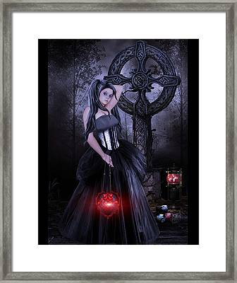 Princess Of Lost Souls Framed Print by Brian Graybill
