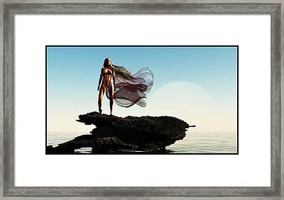 Princess Of Mars... Framed Print
